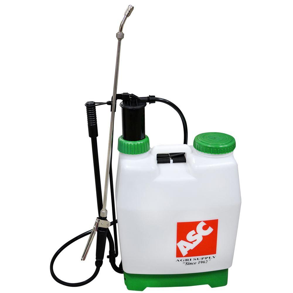 Backpack Sprayer Piston Pump 4 2 Gallon Capacity Sprayers Landscaping Equipment Gallon