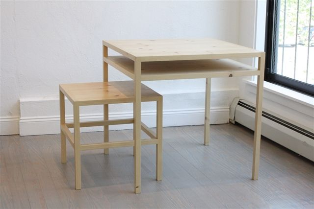 ARTWARE - Table and Stool (B-vB 68)
