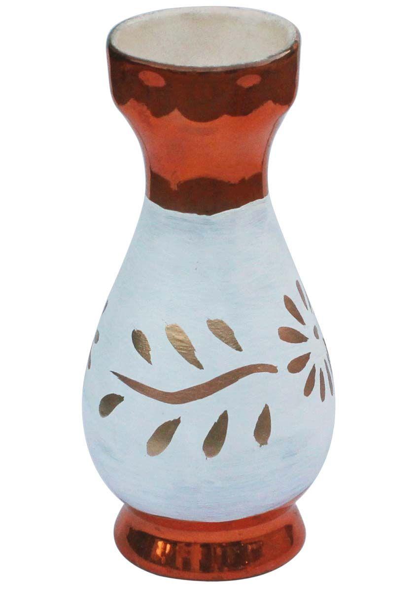 Bulk Wholesale Handmade Ceramic Flower Vase \u2013 Hand-Painted Metallic Copper-Tone \u0026 White Floral Motif Art Vase \u2013 Home Decor  sc 1 st  Pinterest & Bulk Wholesale Handmade Ceramic Flower Vase \u2013 Hand-Painted Metallic ...