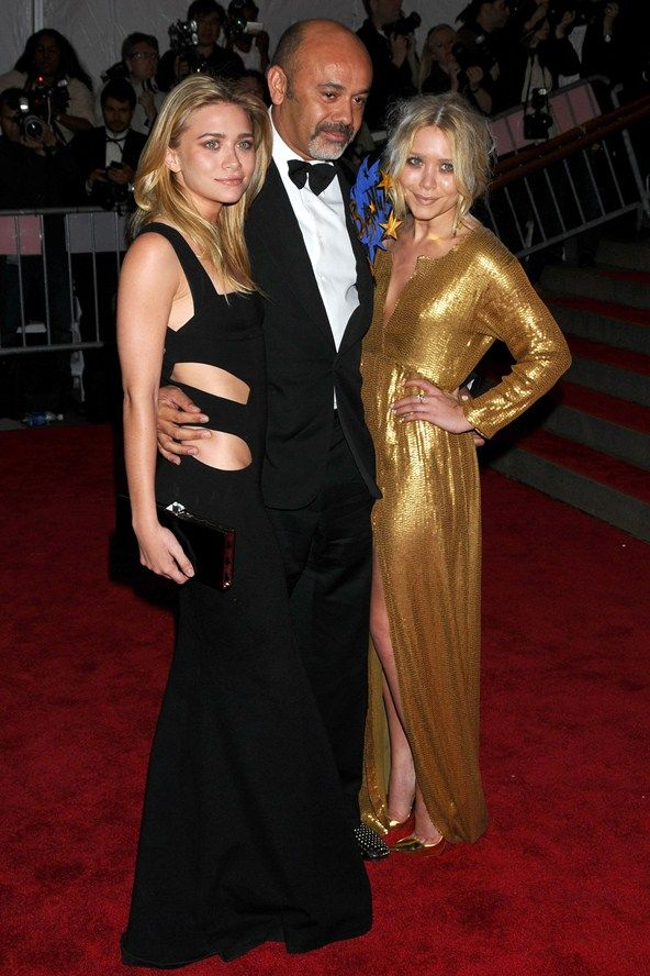 Wearing DVF with Christian #Louboutin - #OlsenTwins