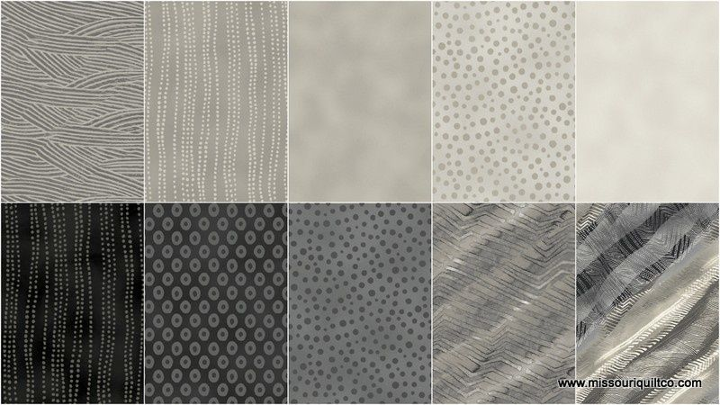 Artisan Spirit Vibration Strips by Deborah Edwards for Northcott Fabrics