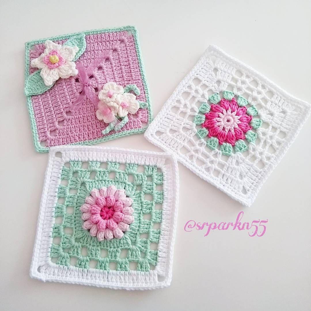 Pin de Angela Mc gealy en Granny block | Pinterest | Crochet ...