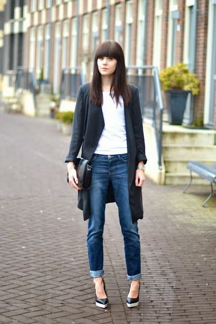 Trend Alert: Boyfriend Jeans - How to wear by blog The Fashion Mood Book