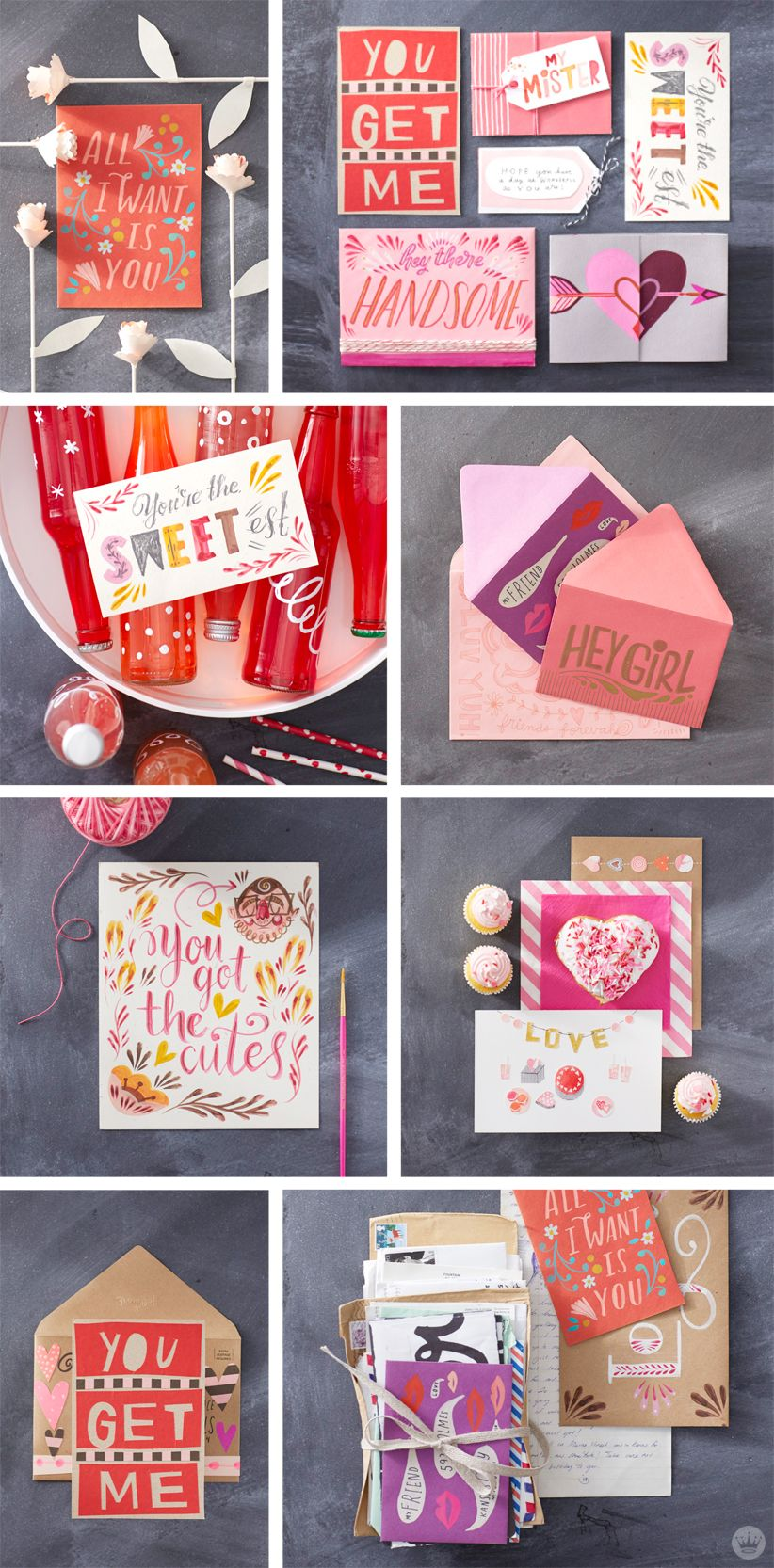 An Afternoon Crafting Love Letters With Hallmark Artists