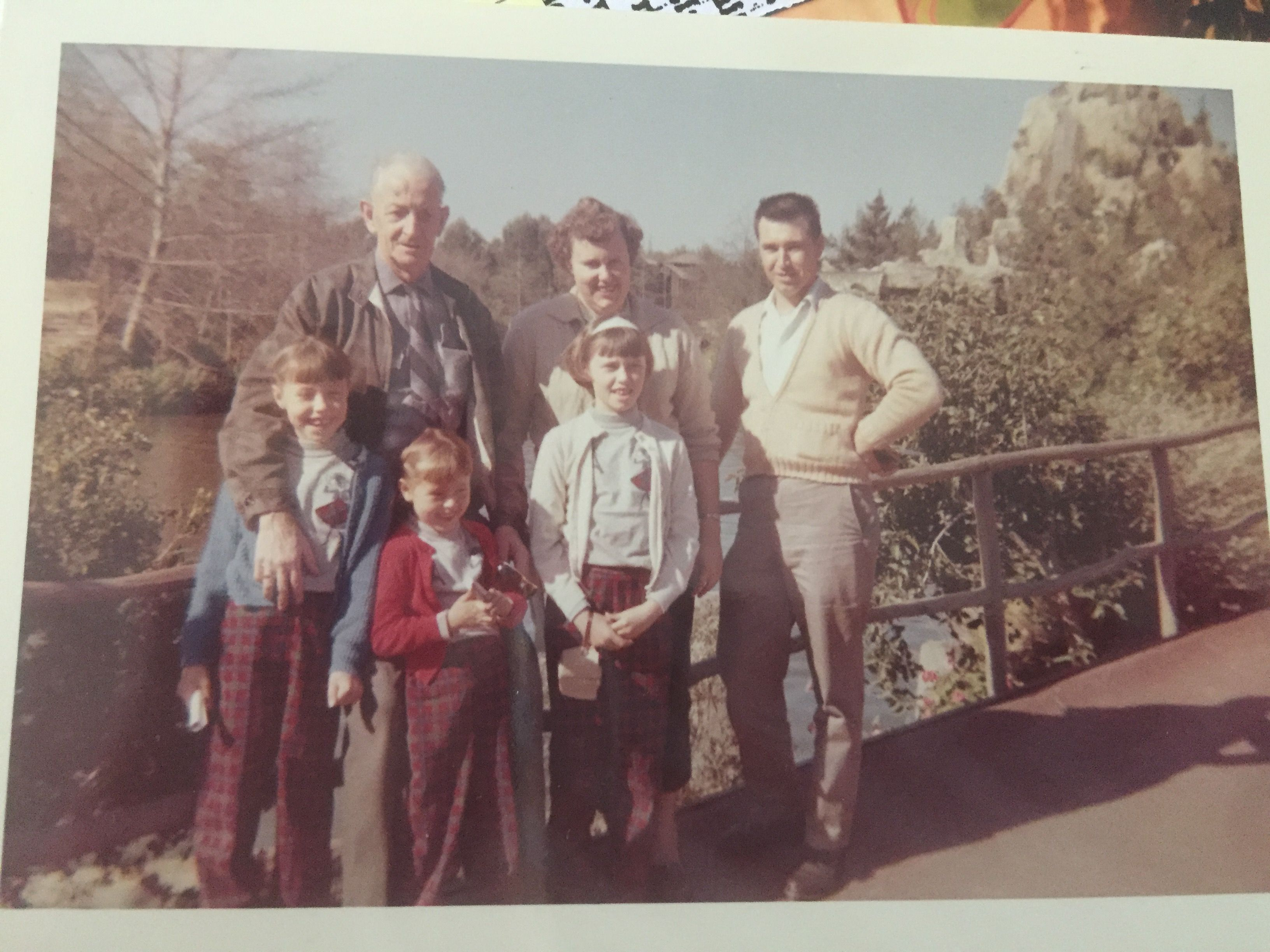 Russell's with Uncle Jack Mead, Disneyland 1963. John