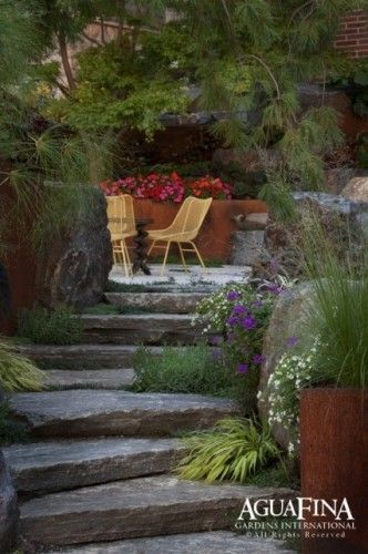 Peaceful, secluded, and intimate. Just about perfect! Just need a water feature!