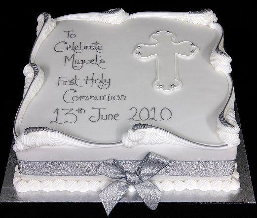First Communion Cakes Ideas 1st Communion Cake Party Ideas