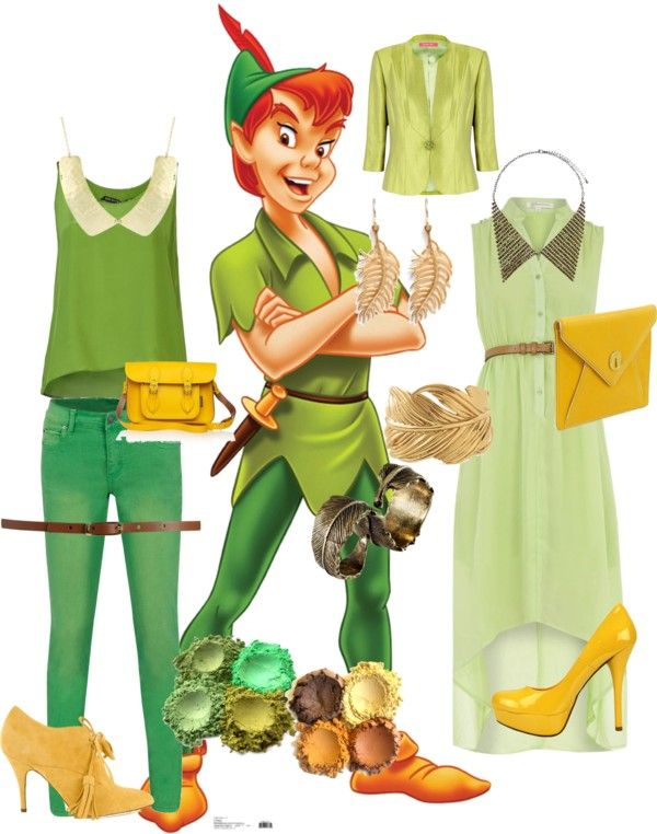 """Peter Pan"" by bmathias on Polyvore"