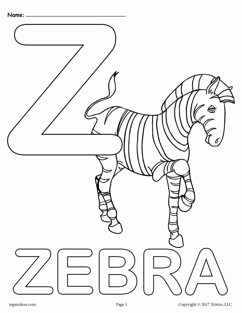 Alphabet Coloring Pages Printable Free New Letter Z Alphabet Coloring Pages 3 Free Printable Alphabet Coloring Pages Letter A Coloring Pages Alphabet Coloring