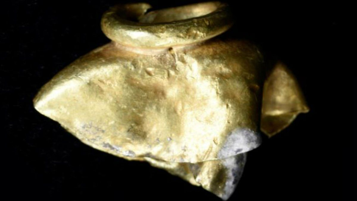 Ancient babylonian treasures unearthed on mount zion in