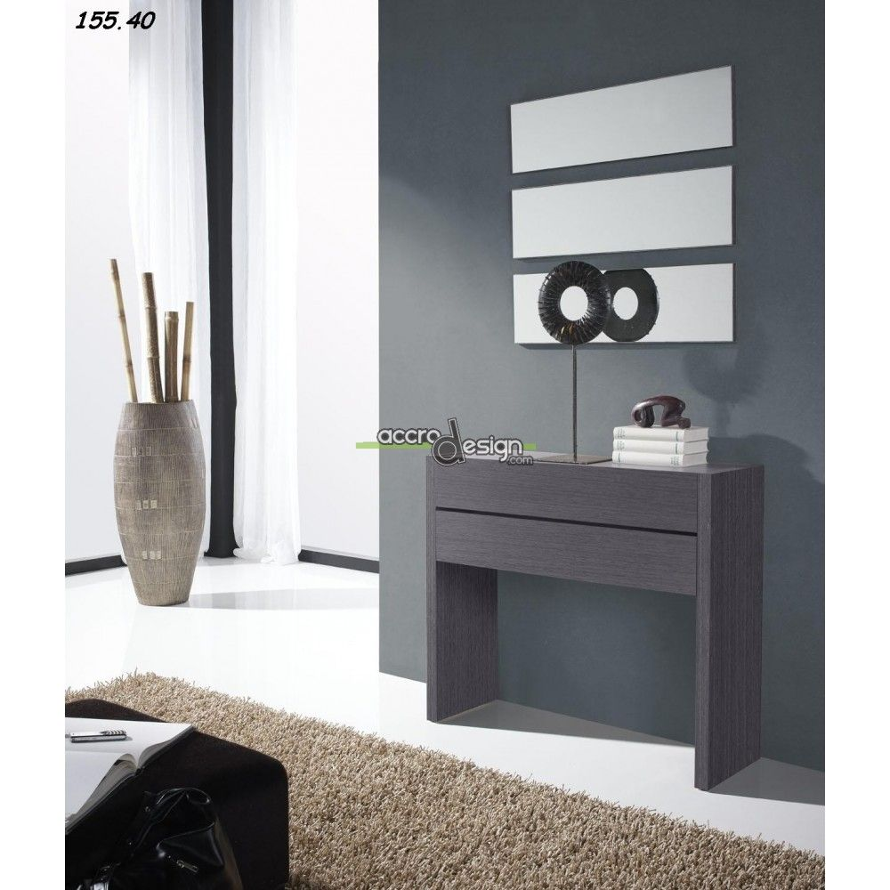 Tr s belle console d 39 entr e sita 05 au design original et for Entree original et simple