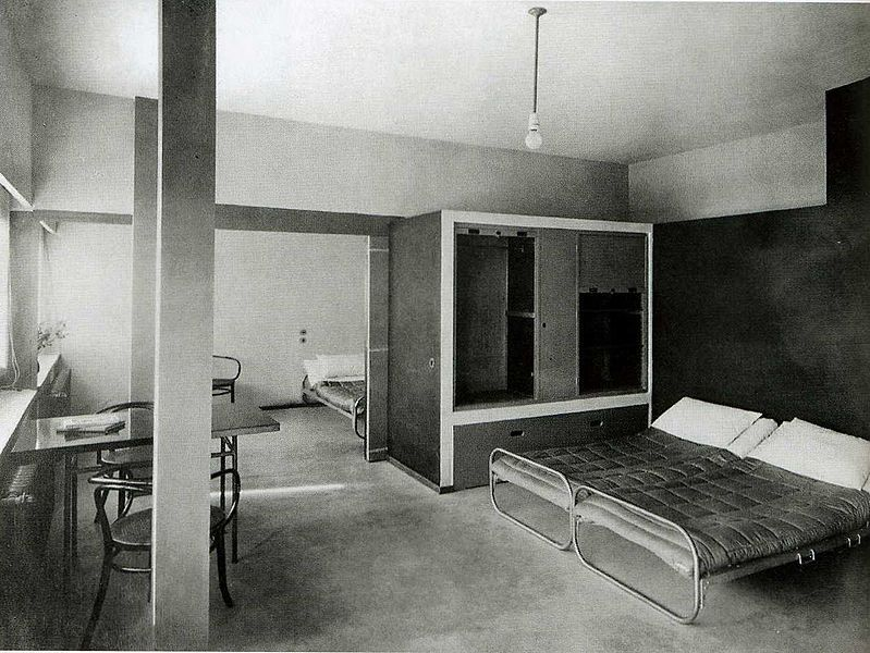 ricordi universitari inside le corbusier 39 s weissenhof. Black Bedroom Furniture Sets. Home Design Ideas