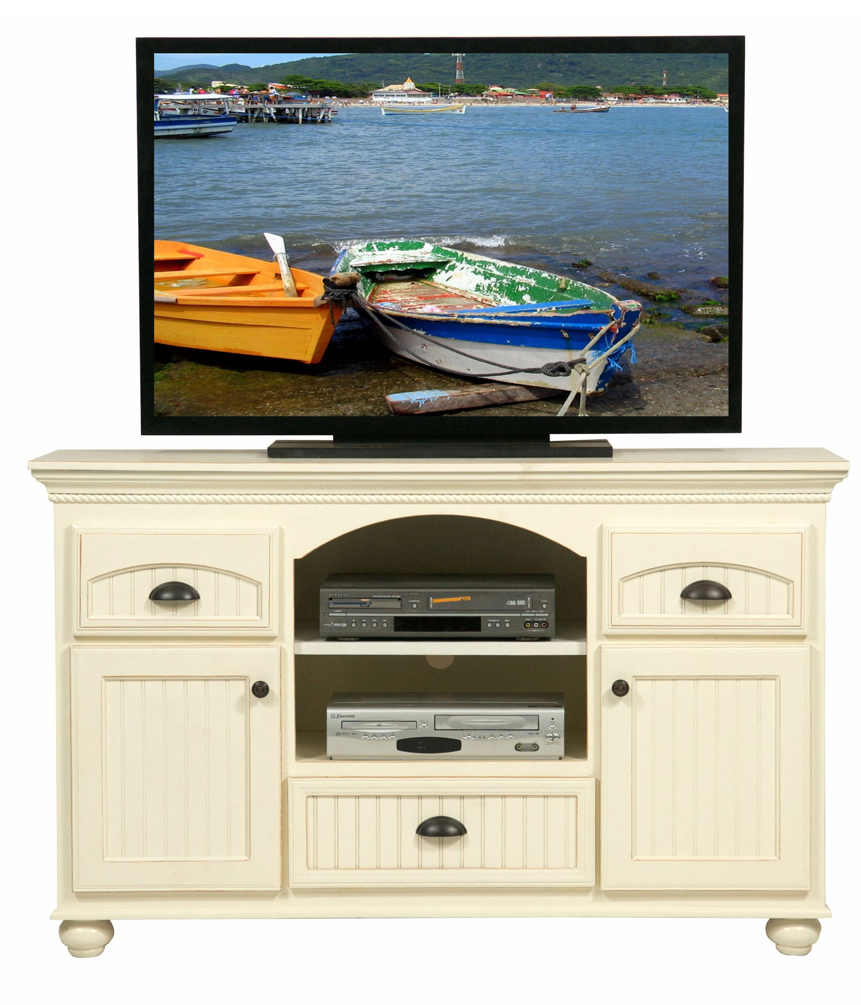 Superbe Eagle Furniture American Premiere Customizable 58 In. Entertainment TV  Stand With 3 Drawers   Expertly Crafted, This Eagle Furniture American  Premiere ...