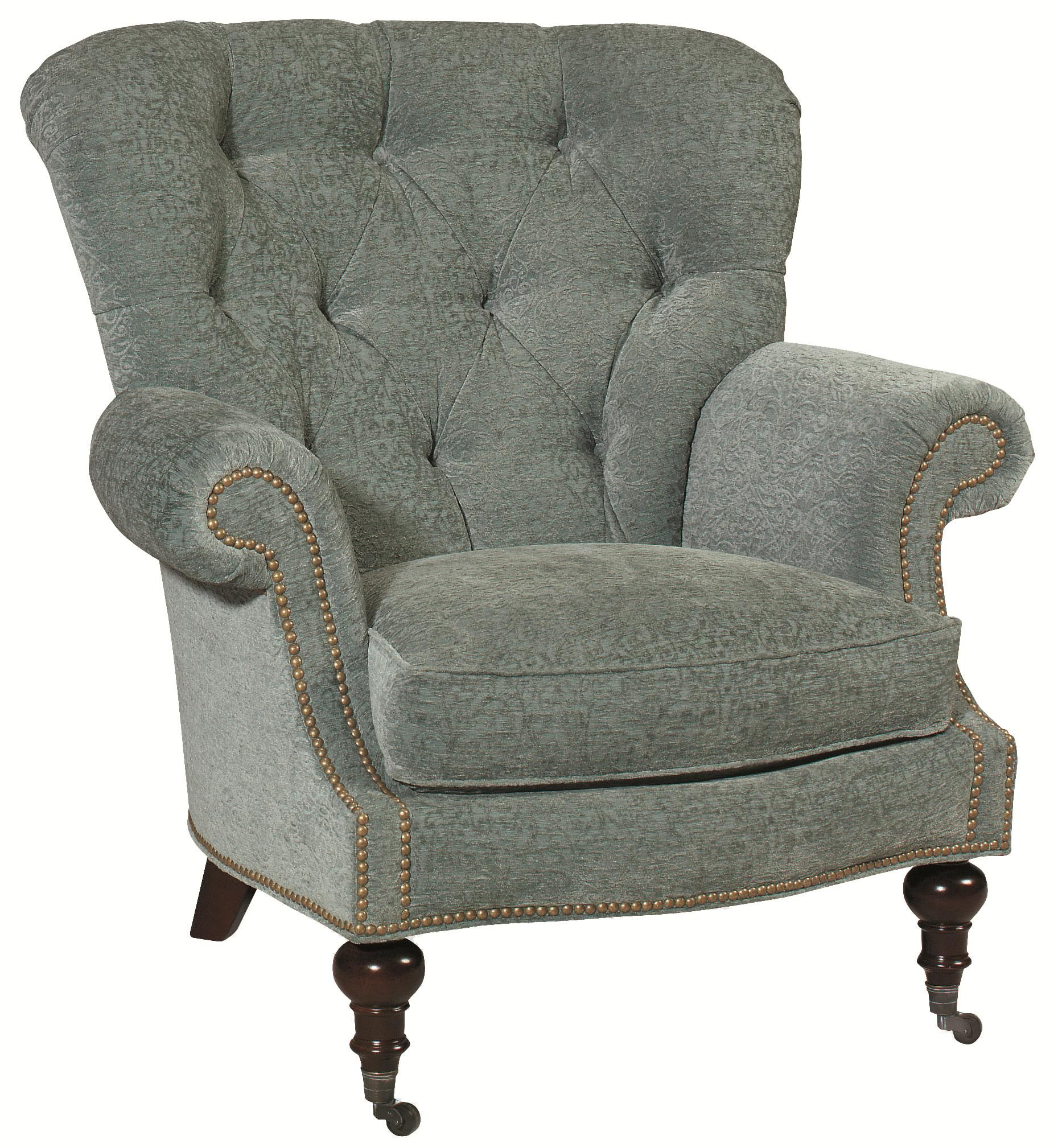 Best Upholstered Chairs And Ottomans Vienna Tufted Back Chair 400 x 300