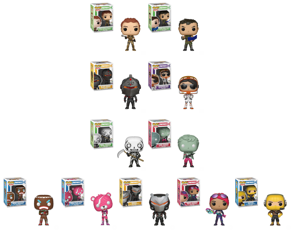 Fortnite Funko Pop Complete Set Of 11 Pre Order Funko Pop