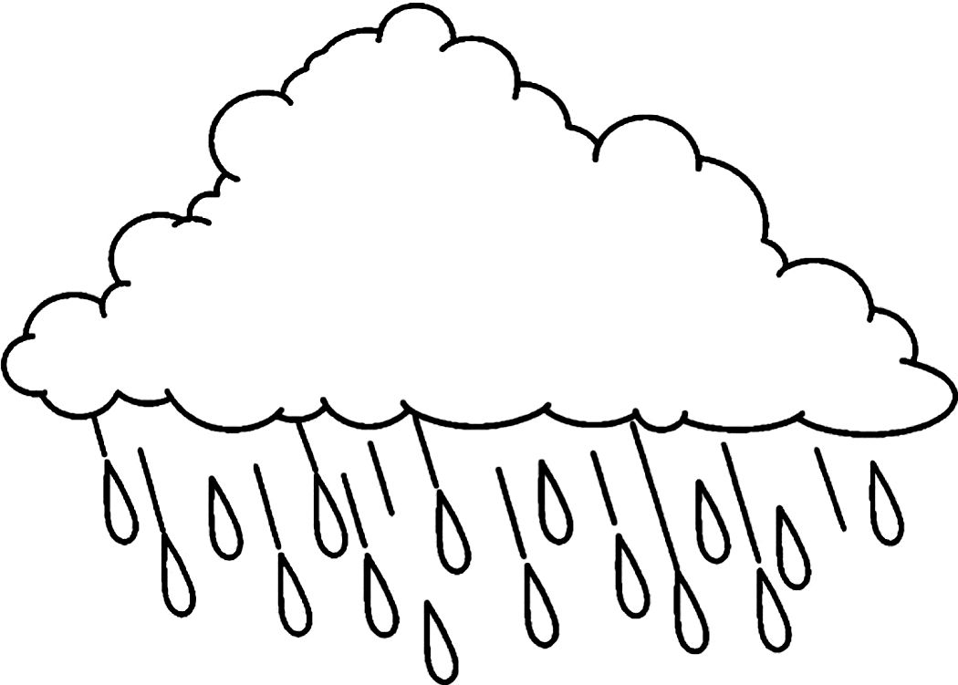 Printable Cloud Coloring Pages Me