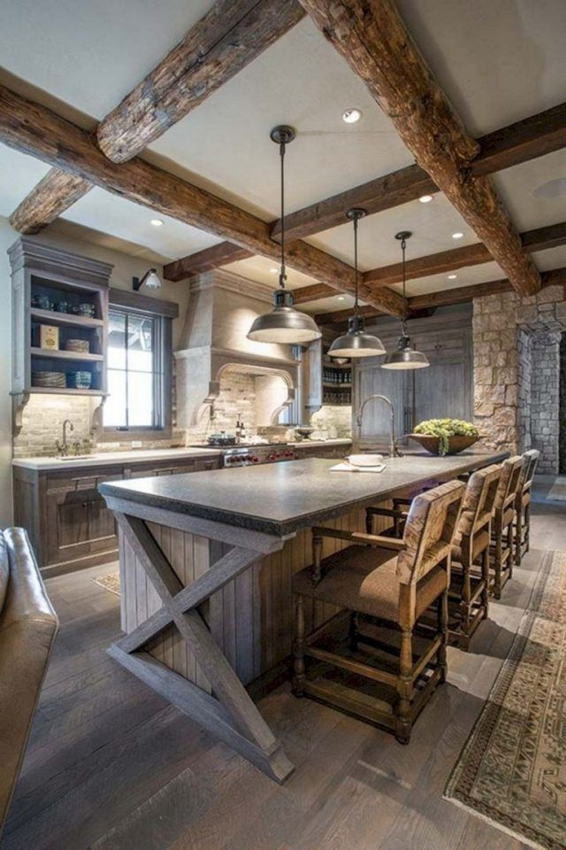 35+ Awesome Most Amazing Rustic Farmhouse Kitchen Design ...