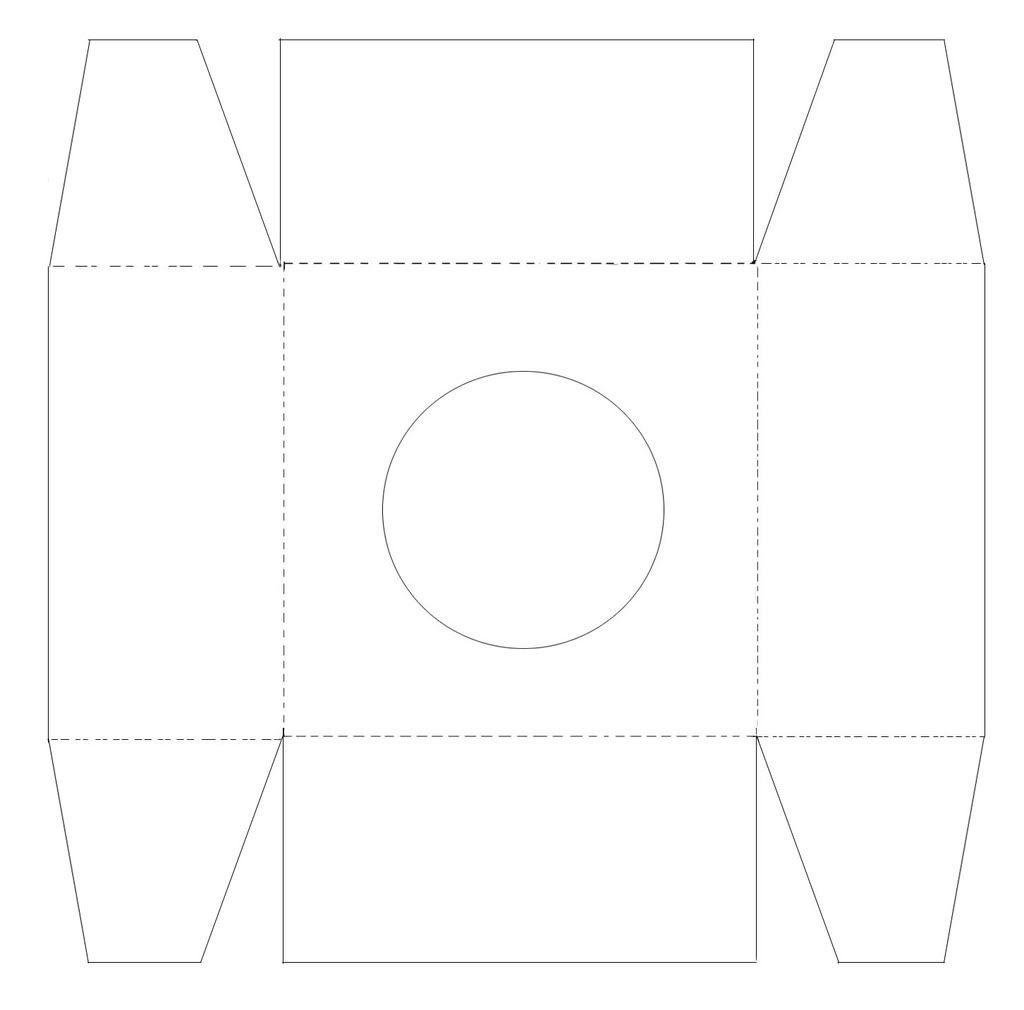 Exceptionnel Gabarit imprimable de boite à cupcake.   Packaging   Pinterest  MP63