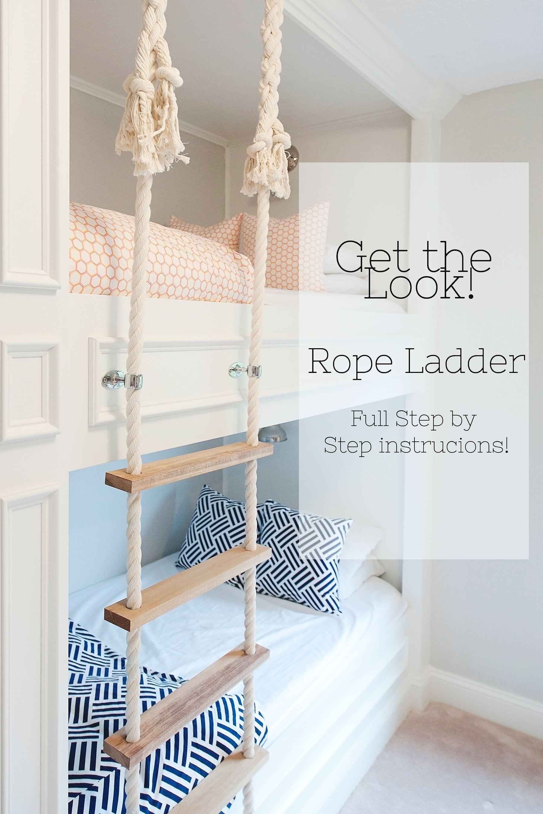 Rope Ladder Diy Bunk Bed Bunk Bed Ladder Bunk Beds