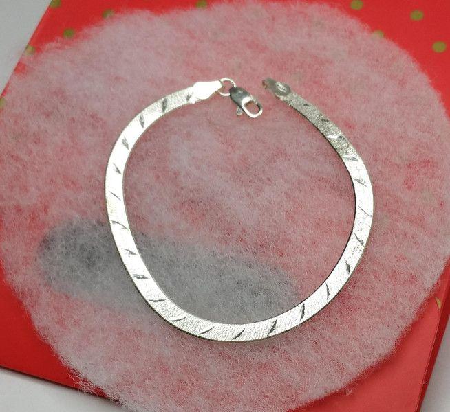 +925er+Schlangen-Silberarmband+SA149+von+Atelier+Regina++auf+DaWanda.com