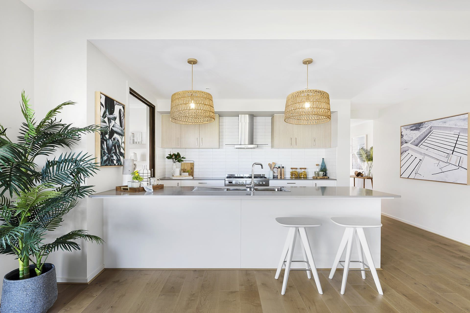 Best Style Cheats To Pull Off A Coastal Inspired Home Kitchen 400 x 300