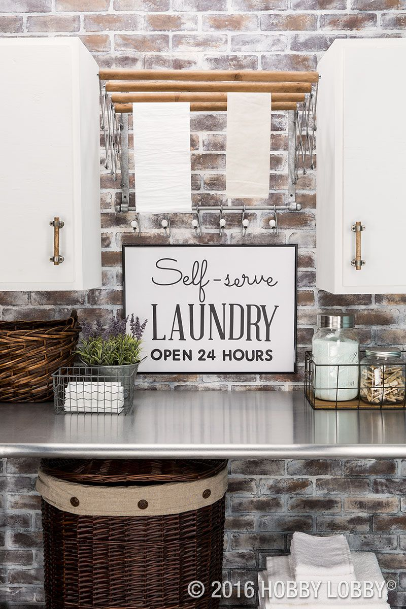 Proof That Any Space Can Be Inspiring Even Your Laundry Room