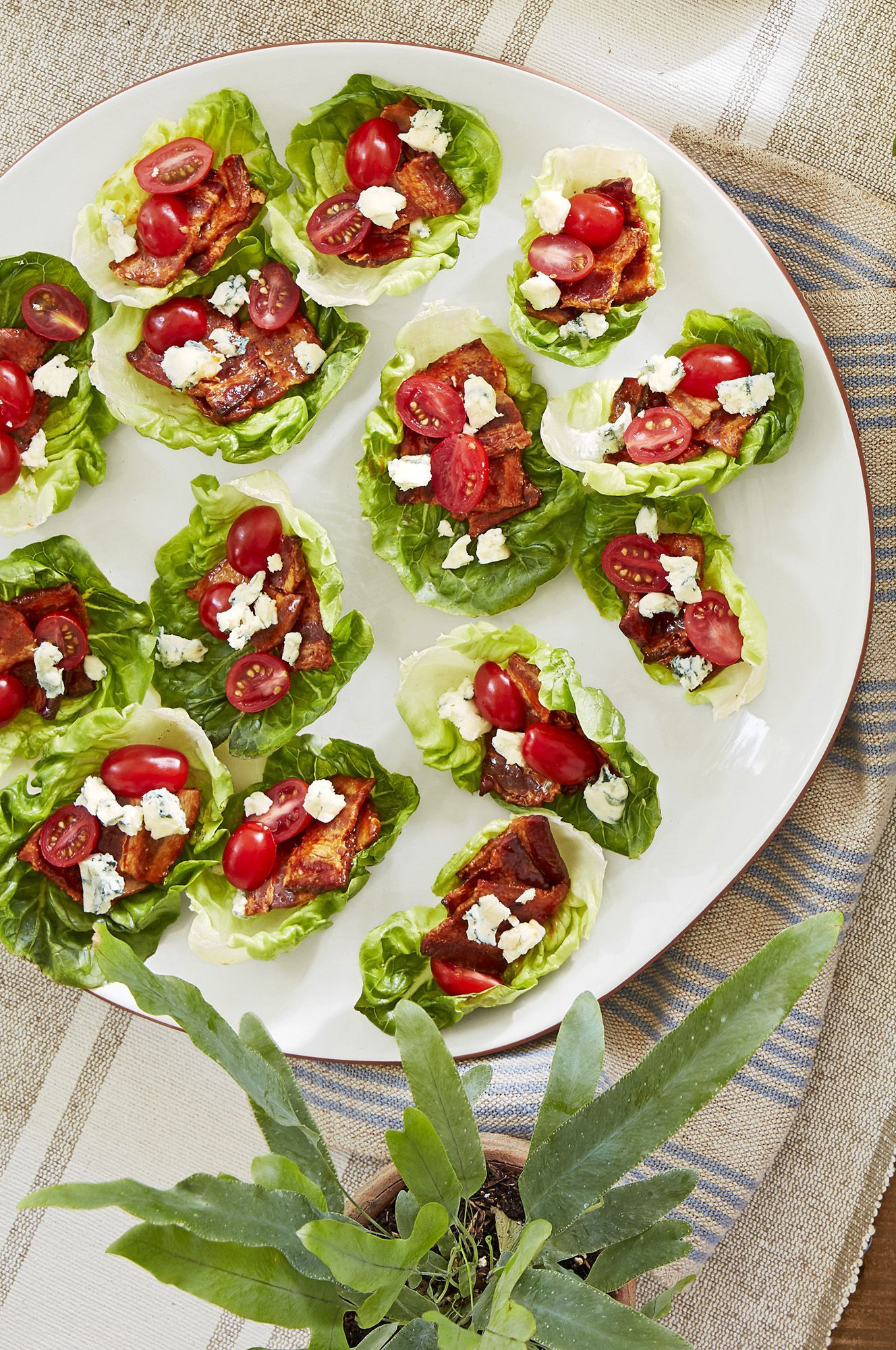 Bacon Lettuce Cups Recipe Appetizers Pinterest Appetizers