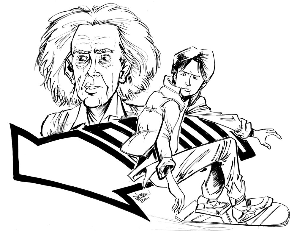 Back To The Future Colouring Pages Colouring Pages Coloring Pictures Printable Coloring Pages