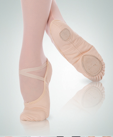 bbf64472e Body Wrappers Wendy Total Stretch Canvas Ballet Slippers - 246A