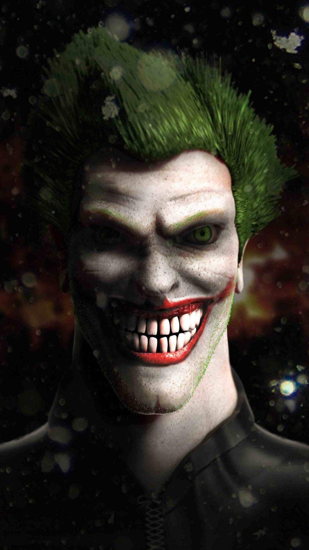Joker Fan Art 4k Mobile Wallpaper (iPhone, Android