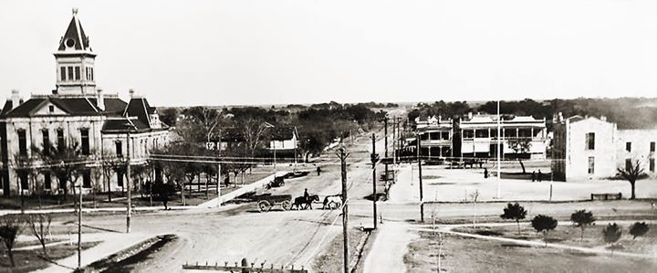 Downtown Uvalde Tx Early 1800 S Uvalde Texas Uvalde