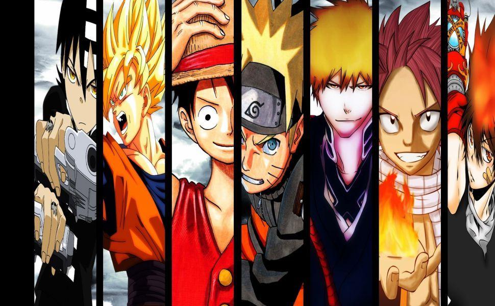 Naruto Bleach One Piece Fairy Tail HD Wallpaper Anime