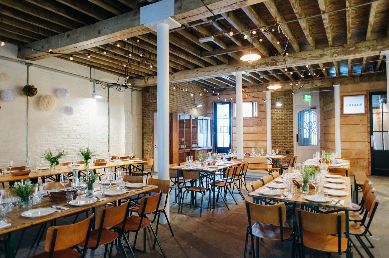 laid back urban warehouse alternative wedding venue in south london carla and