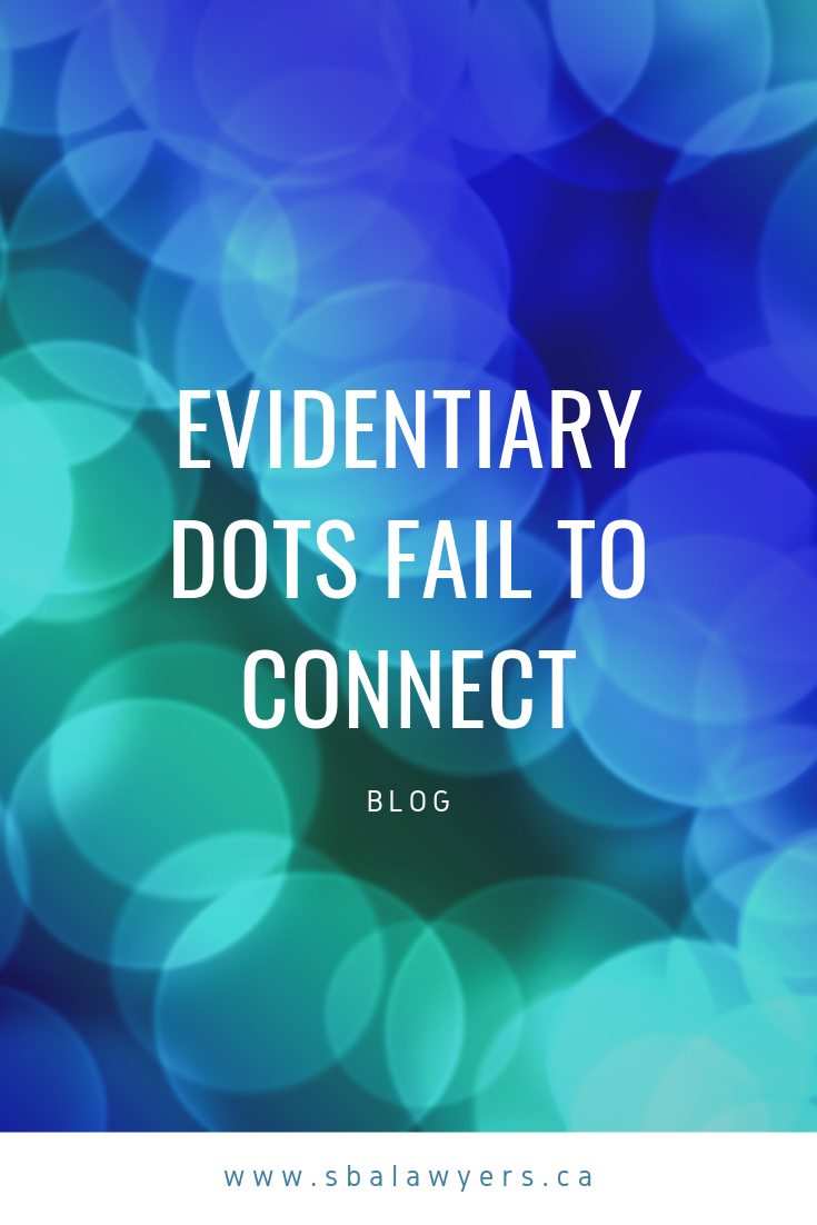 New Case Evidentiary Dots Fail To Connect Law Blog Fails Mutual Insurance