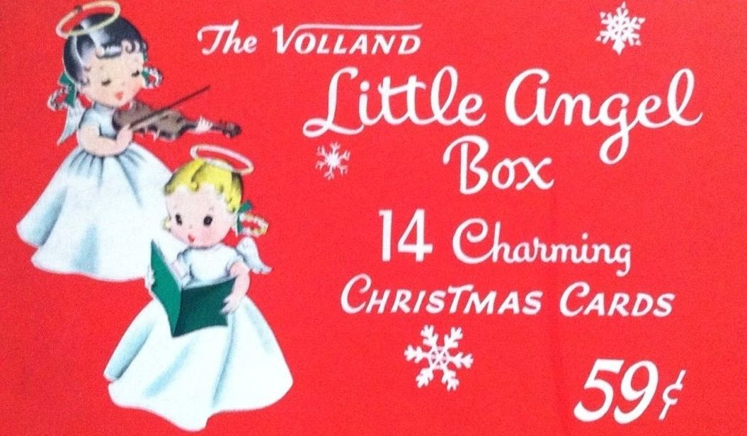 .Little Angel Box of  cards