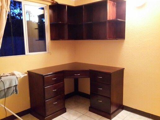 Home office escritorio de esquina por fin en mi casita - Escritorio en esquina ...