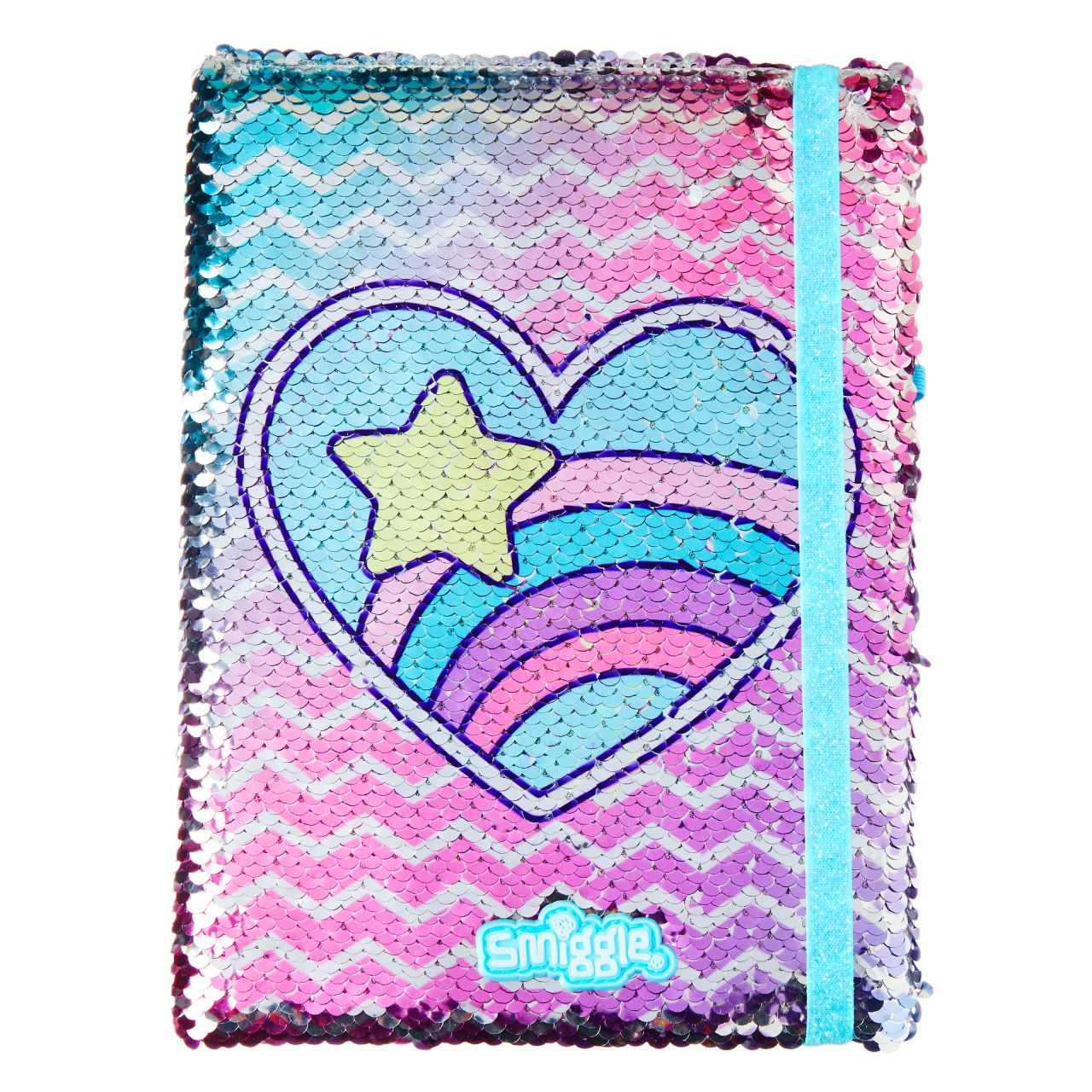 Hits Reversible Sequin A5 Notebook Mix - Smiggle Online
