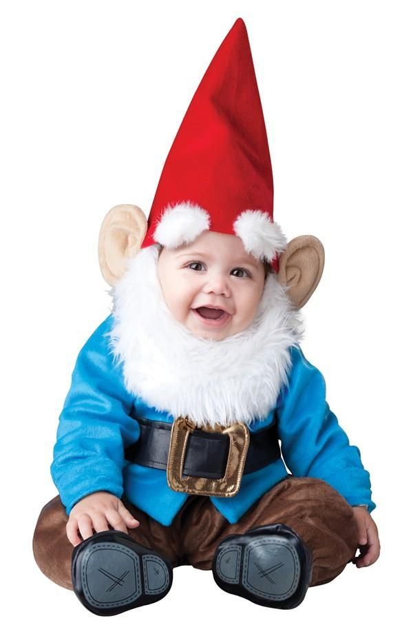 Mini gnome baby Halloween costume! Disfraces Pinterest