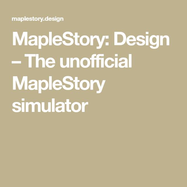 45+ Maplestory stimulator information