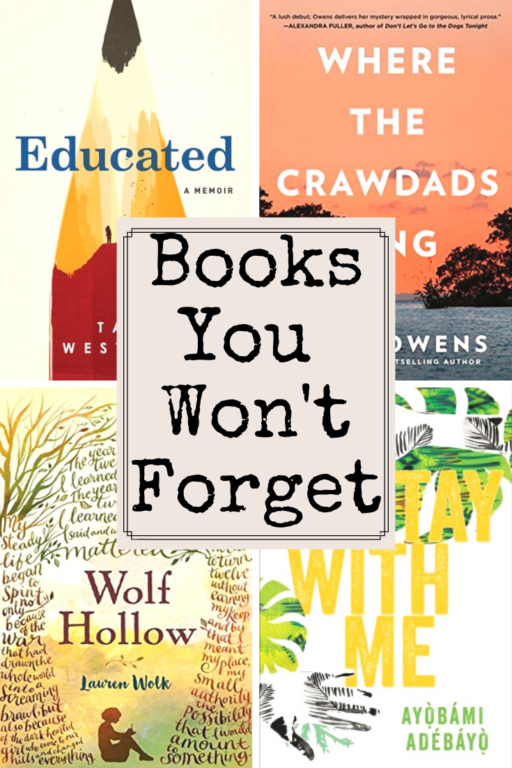 Books You'll Never Forget