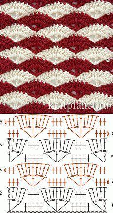 Crochet Locs - Cómo hacer el punto cocodrilo en ganchillo #crochetstitchespatterns