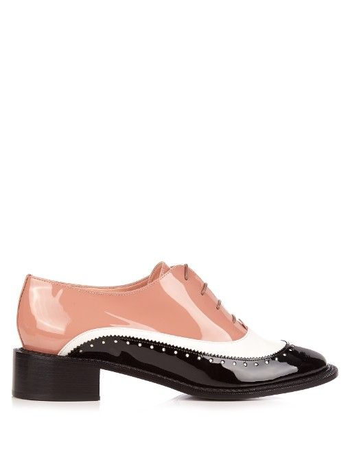 20ff26fe0c6 ROCHAS Lace-Up Leather Brogues.  rochas  shoes  flats