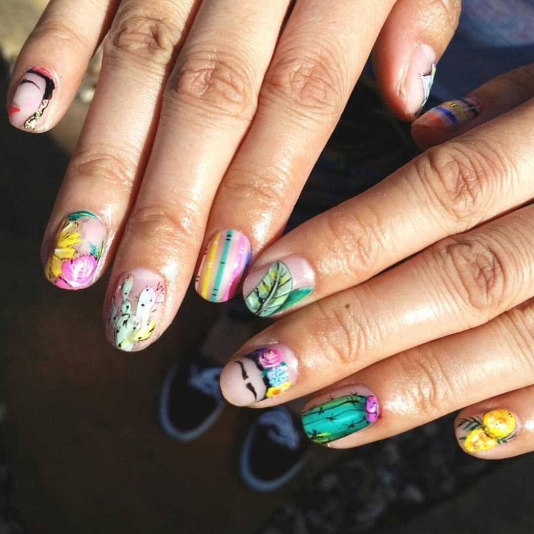 25 Frida Kahlo Nail Art Ideas That Are a Work of Art | Nails ...