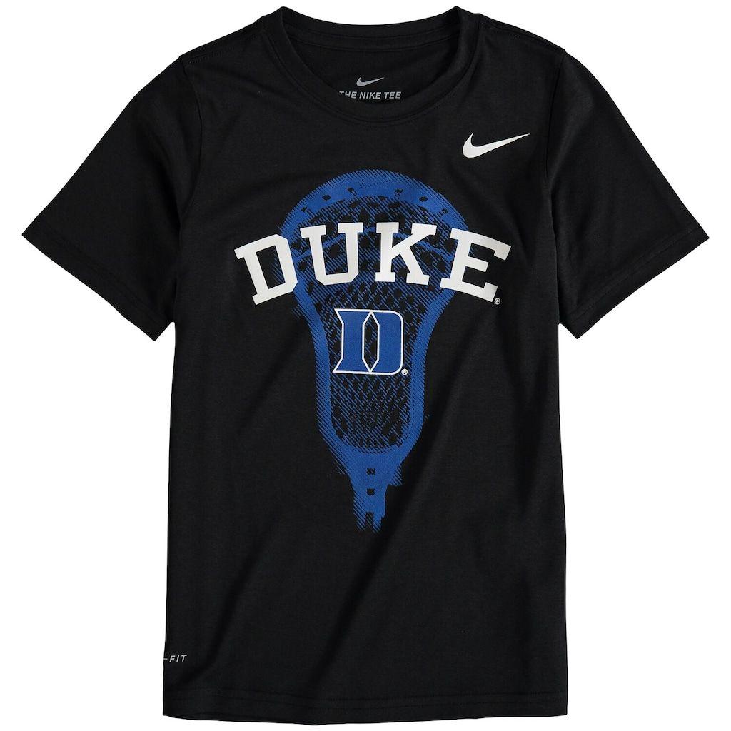 Youth Nike Black Duke Blue Devils Lacrosse Performance T Shirt Lacrosse Sweatshirt Duke Blue Devils Youth Lacrosse [ 1024 x 1024 Pixel ]