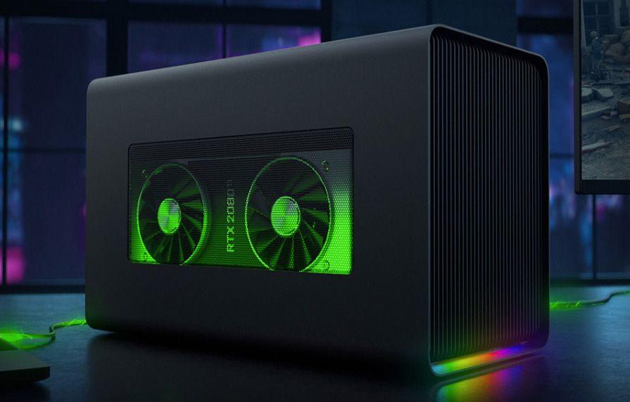 Razer Core X Chroma Thunderbolt 3 Egpu Enclosure Adds 4 Usb A Gigabit Ethernet Http Bit Ly 2ingil8 Macbook Pro Price Iphone Models Graphic Card