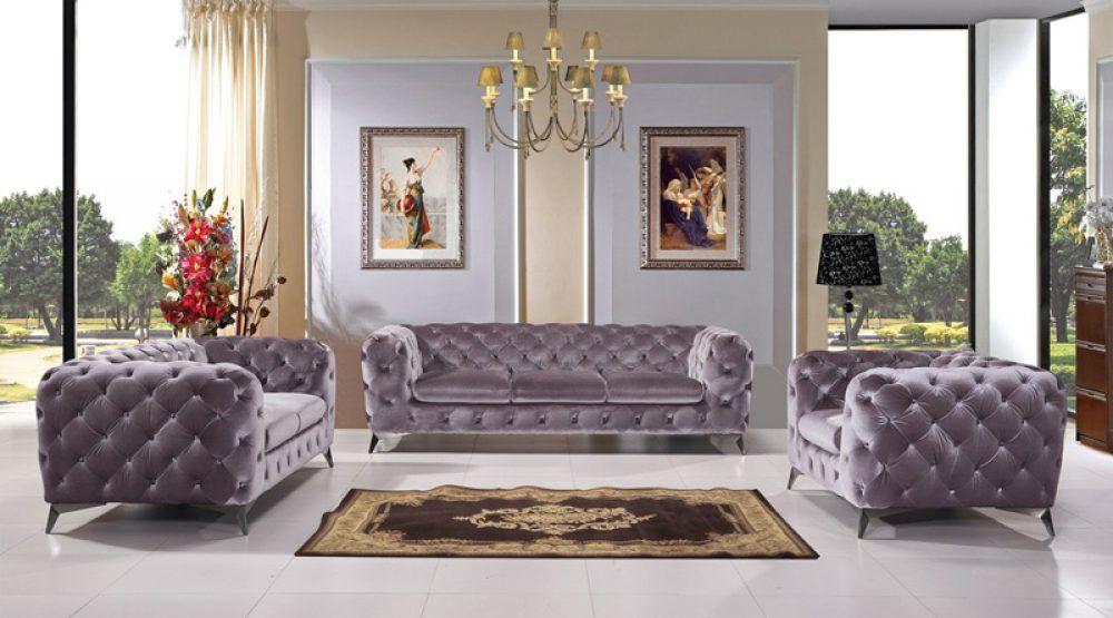 Sala delilah | Sillas tapizadas, Colores grises y Acero inoxidable