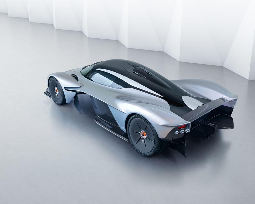 Aston Martin Valkyrie Hypercar Exterior And Interior Design Revealed Aston Martin Sportscar Most Expensive Luxury Cars