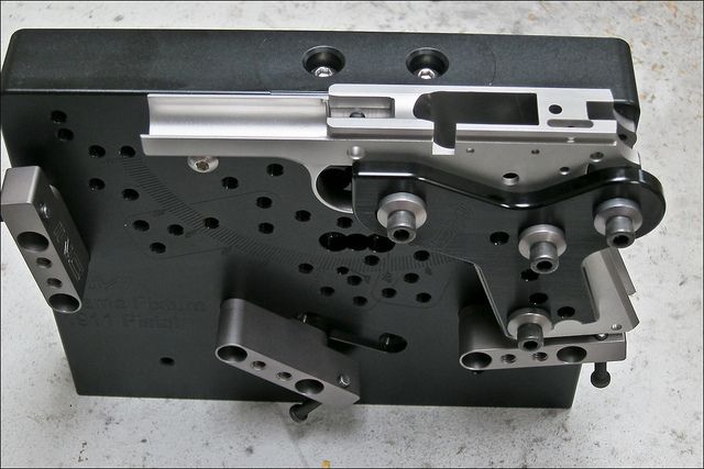 Multi Fixture For Vertical Machining Gunsmithing Tools Custom 1911 Cnc Woodworking Steel Art