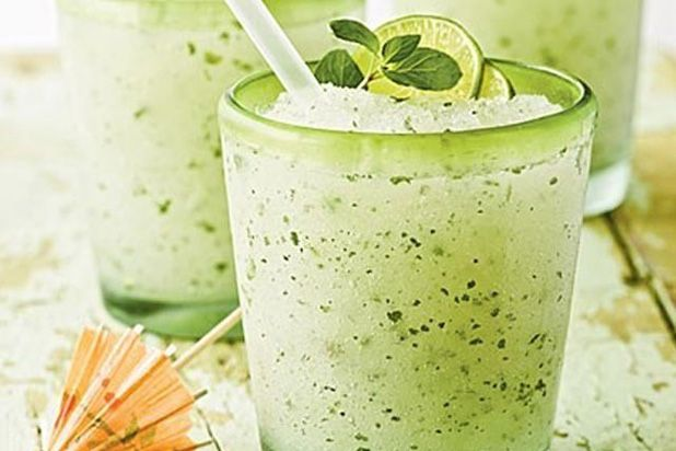 Minty Lime Frozen Mojito Recipe
