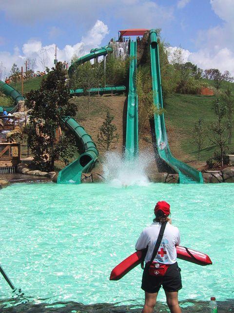 Geyser Falls Water Theme Park in Choctaw Mississippi 209 Black Jack